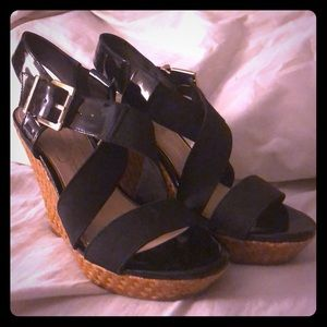 WORN ONCE Jessica Simpson Wedges